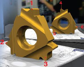 В отвори с минимален диаметър 1 7 мм
